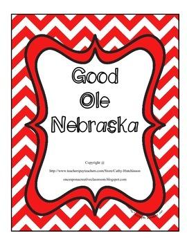 Nebraska Unit...For all those 4th grade classes teaching Nebraska!!!!