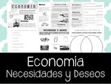 Necesidades y deseos. Economia en Español