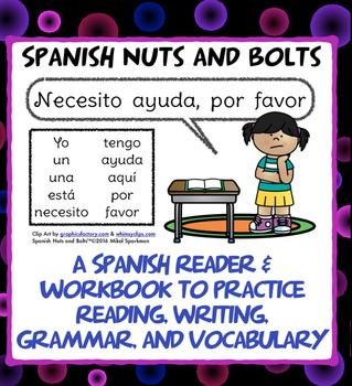 Necesito ayuda, por favor: A beginning Spanish workbook/reader