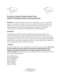 Necessity of Animal Testing:  A PARCC Synthesis Prompt