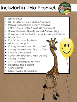 Neck and Neck by Parsley 20 Extension Activities NO PREP