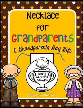 Necklace for Grandparents' Day
