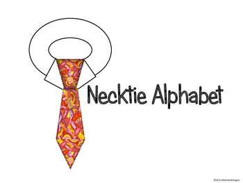 Necktie Alphabet (Word Wall Tags)