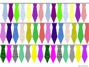 Necktie Border