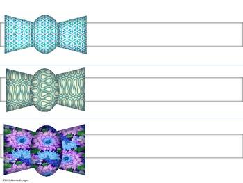 Necktie Name Plates