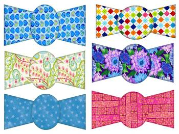 Necktie and Bowtie CLIP ART