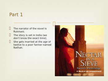 Nectar in a Sieve review powerpoint