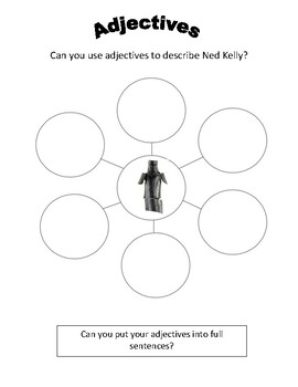 Ned Kelly Adjectives Activity