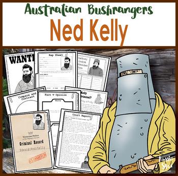 Ned Kelly Australian Bushranger Activity Pack