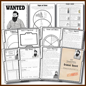 Ned Kelly Australian Bushranger Activity Pack