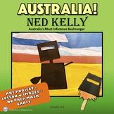 Ned Kelly - Australian Bushranger | Lesson + Art Project +
