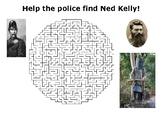 Ned Kelly Maze Puzzle