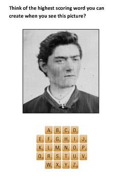 Ned Kelly Scrabble Activity