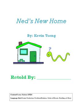 Ned's New Home retell book