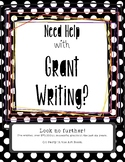 Need Grant Writing Help?