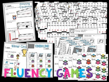 Guiding Firsties: Need for Speed Addition and Subtraction Fluency Practice