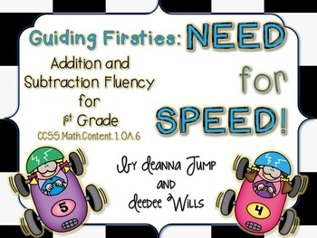 Guiding Firsties: Need for Speed Addition and Subtraction