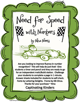 Need for Speed - Numbers