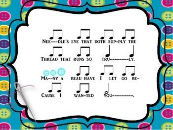 Needle's Eye: Song & Game for Teaching Tika-Ti