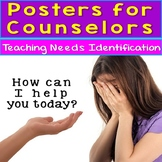 Needs Identification Therapy and Counseling Posters