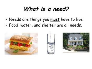 Needs, Wants, Goods, Services, Entrepreneur