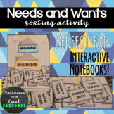 Needs & Wants INB Sort