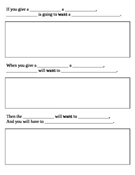 """Needs / Wants - """"If You Give a ______ A _____"""" - Economics / Writing project"""