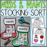 Needs & Wants Stocking Sort!