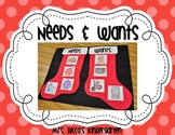 Needs & Wants Stocking Sort FREEBIE