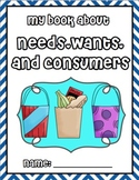 Needs, Wants, and Consumers Workbook K-2 Social Studies