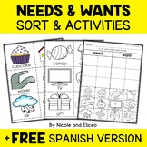 Interactive Activities - Needs and Wants