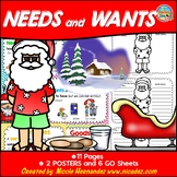 NEEDS and WANTS Posters with GO Sheets