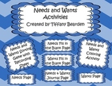 Needs and Wants Activities