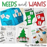 Needs and Wants Activities and Crafts