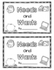 Needs and Wants - Craft and Activities