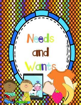 Needs and Wants {Mini Unit}