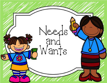 Needs and Wants PowerPoint