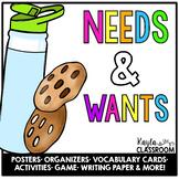 Needs and Wants (Primary Economics)