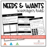 Needs and Wants Scavenger Hunt