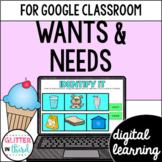 Wants and needs for Google Classroom DIGITAL