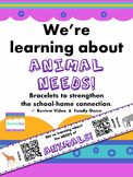 Needs of Animals QR Code Bracelets with video & game - Sch