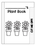 Needs of a Plant Flip Book-- predict, hypothesis, check hy