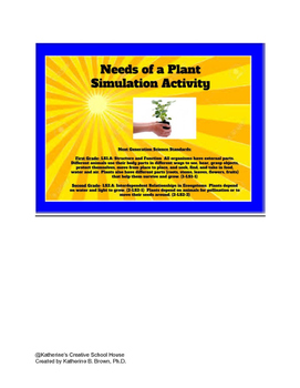 Needs of a Plant Simulation