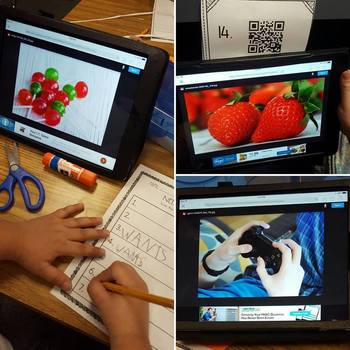 Needs vs. Wants - QR Code Hunt with Real Photos & Picture Sort