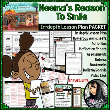 Neema's Reason To Smile (Inference Lesson Plan and Activities) (21 pages)