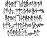 Neferchichi's Egyptian Fonts: Egyptian Gods