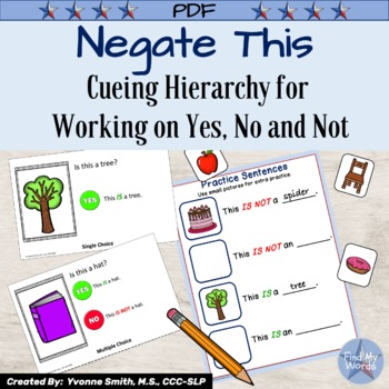 Yes No and Negation Cueing Hierarchy
