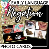 Negation Speech Therapy Flashcards