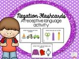 Negation Flashcards