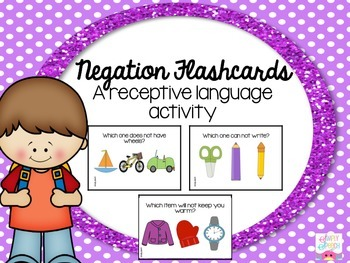 Negation Flashcards